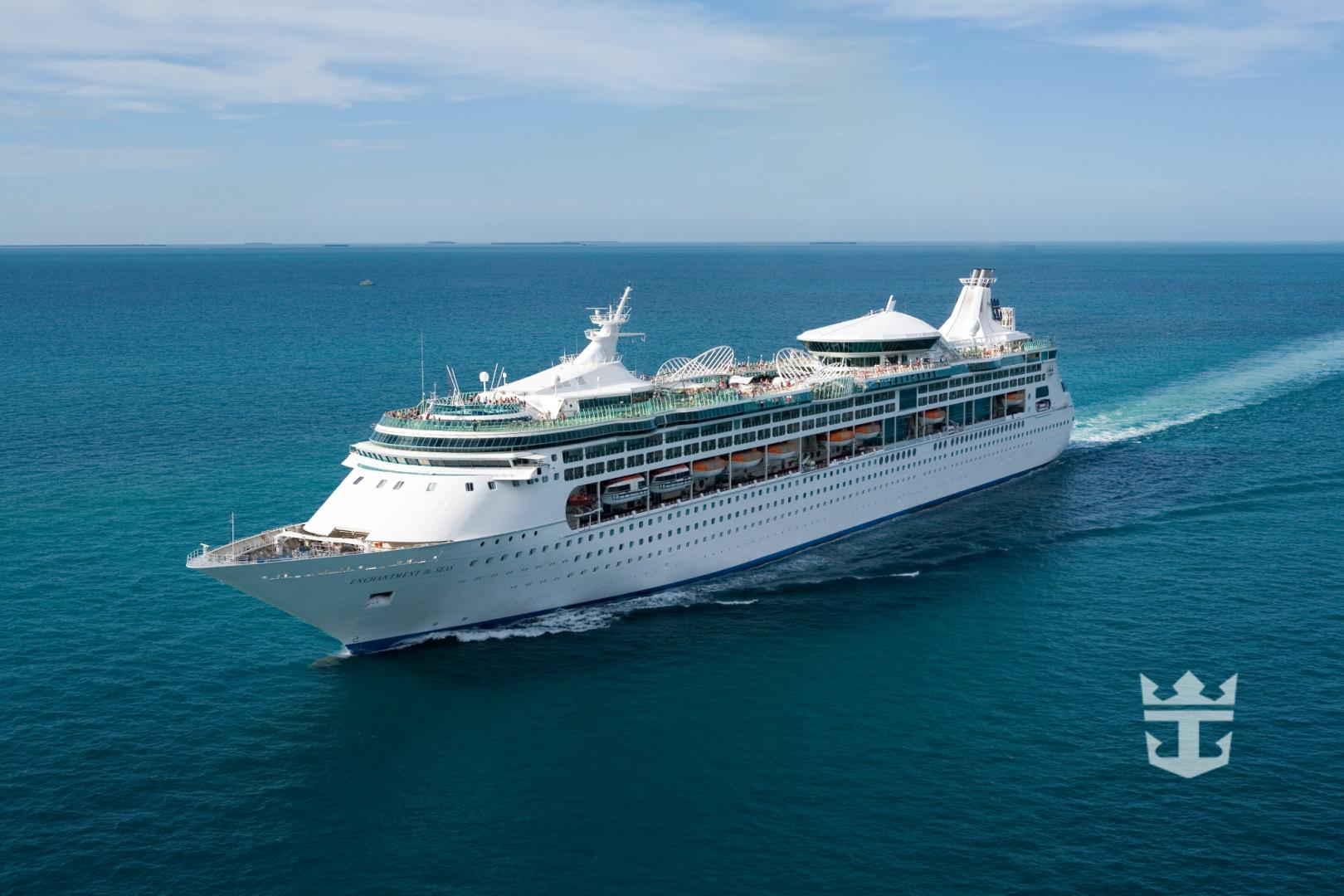 Aerial of Enchantment of the Seas